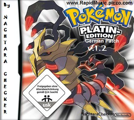 Thumbnail 1 for Pokemon Platin Deutsch Patch (German Patch)